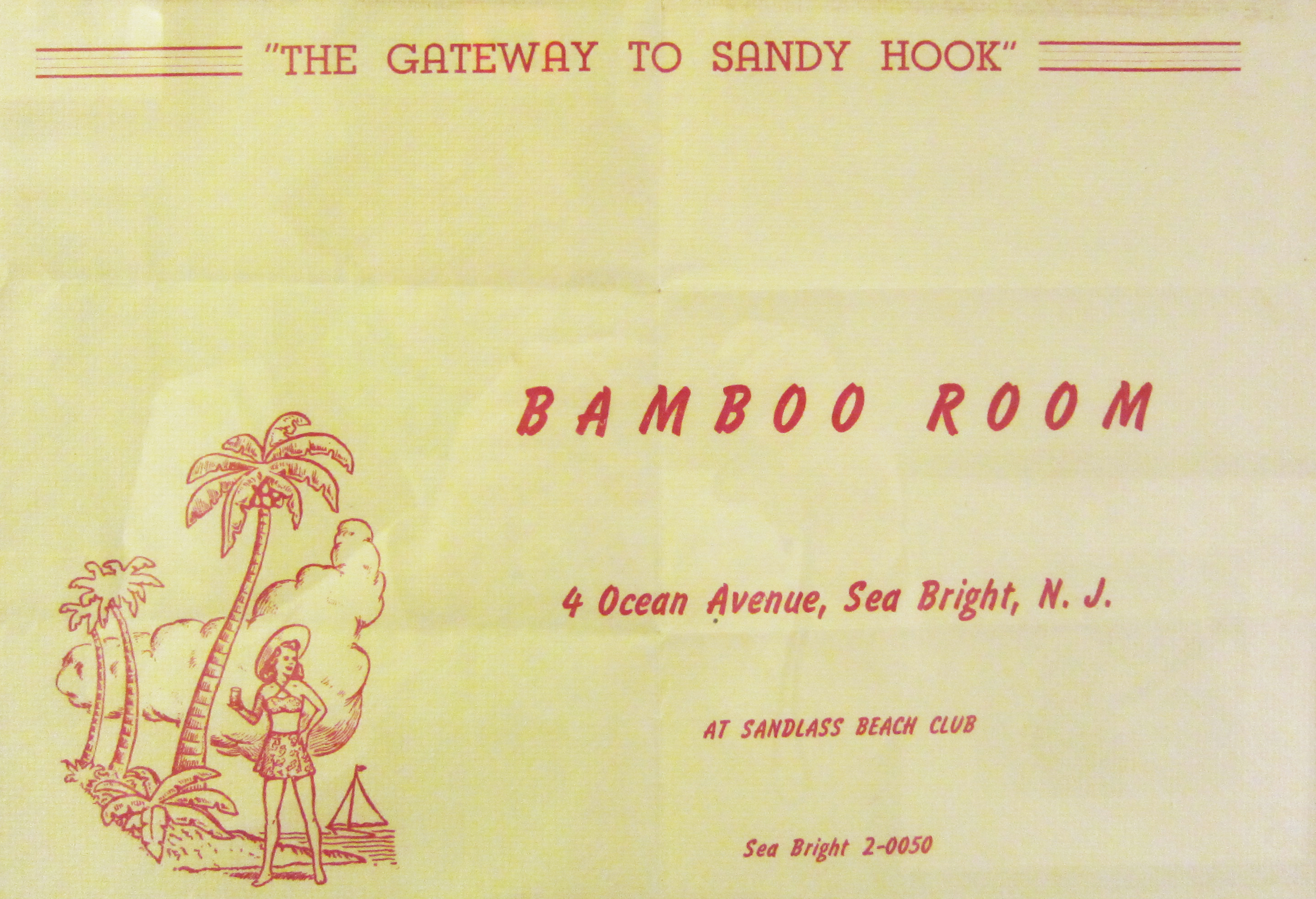 Bamboo Room, Sea Bright, New Jersey