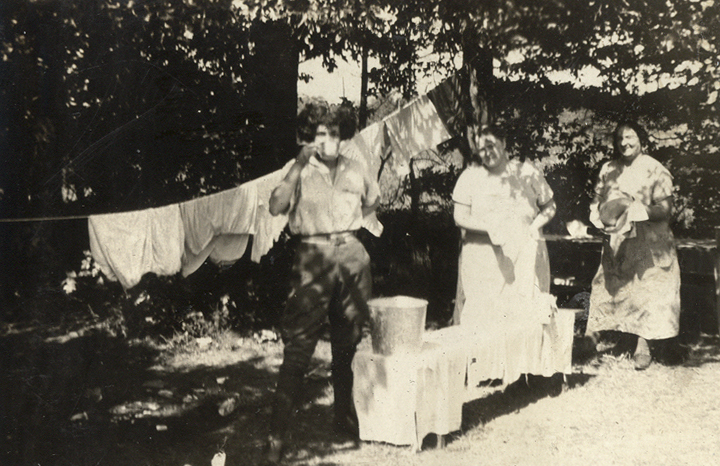 Laundry on the Road