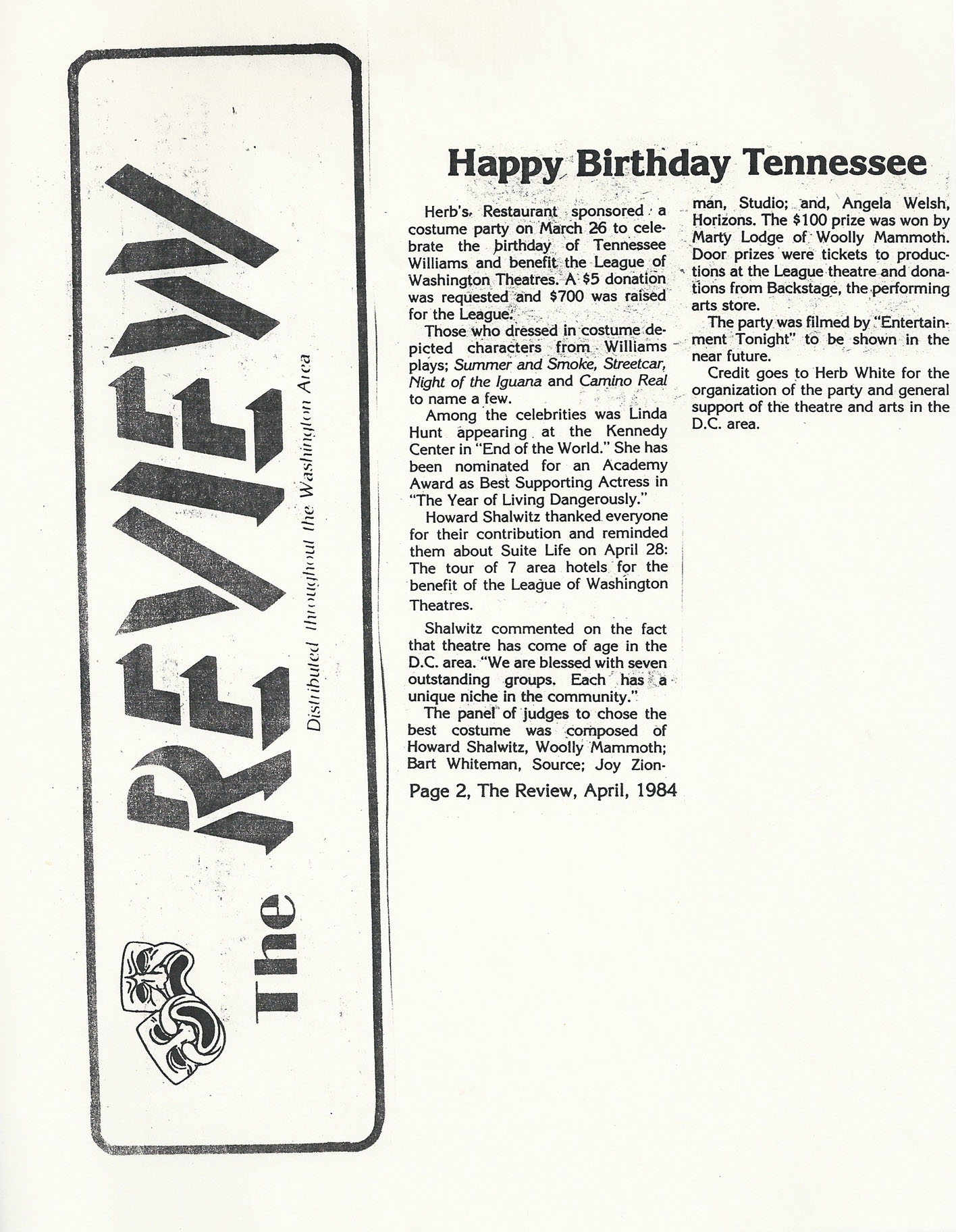 Happy Birthday Tennessee