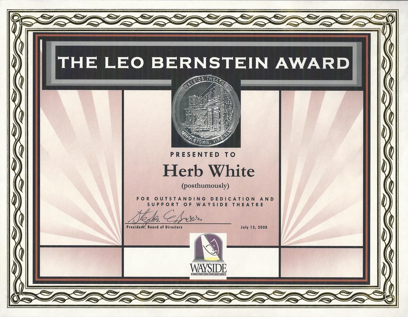 Leo Bernstine