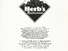 Herb\'s Restaurant Menu