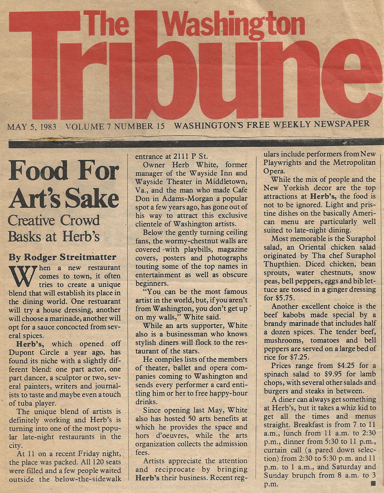 The Washington Tribune