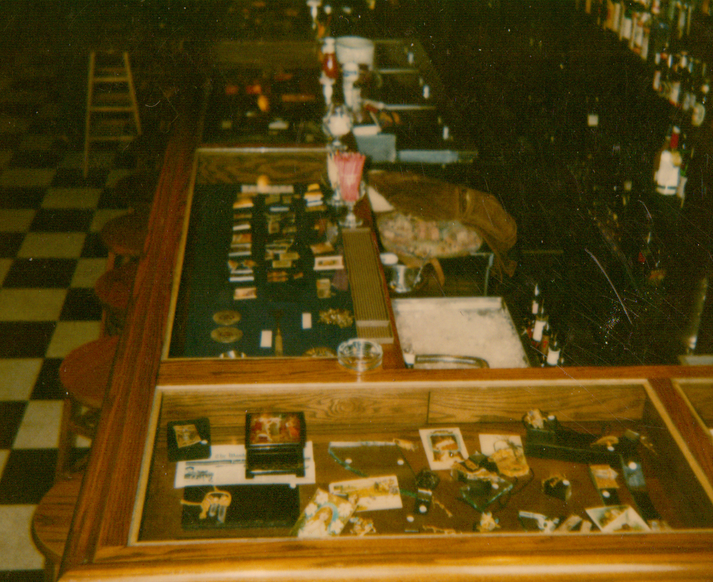 Interior of The Collector Art gallery Restaurant