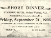 Shore Dinner Ticket